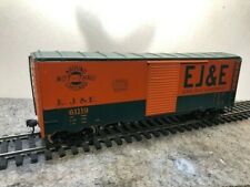 O Scale 2 Rail Box Car from wood kit All Nation/Walthers , Kadees new