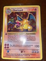 1st Edition Charizard *REPLICA* 4/102 Base Set Pokemon Card - (Read Description)
