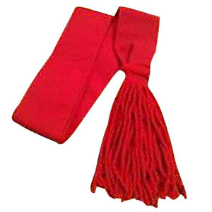 Army Red Sash Wool/Guards Sergeants Shoulder Red Sash Wool/Sergeants Sgts Sash