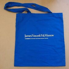 JAMES VINCENT MCMORROW We Move 2016 UK promotional only cotton tote bag