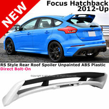 For Ford Focus 4Dr 2013-2017 Rear Spoiler Trunk Lid Lip Wing RS Style Bolt-on