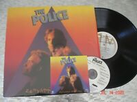 "The Police ‎ ""Zenyatta Mondatta"" Vintage Vinyl LP A&M Records ‎crc w/CD SP4831"