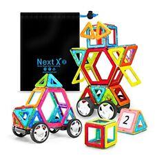 NextX Magnetic Building Blocks Educational Toys Magnet Construction Tiles Set Gi