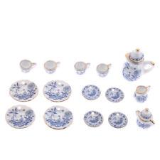 1/12 Dollhouse Miniature Geschirr Tee Kaffee Wein Tasse Set 15 Stück Kit