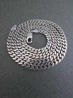 Vintage Modernist Silver Link Necklace