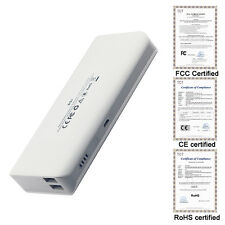 10000mAh Power Bank Dual USB External Battery Portable Charger iPhones Samsung