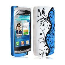 Housse Coque Étui En Gel Pour Samsung Wave 2 S8530 Avec Motif HF25