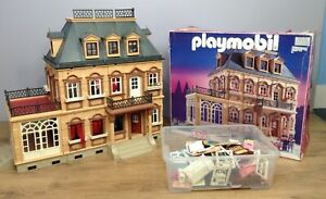 Playmobil 5300 Victorian House Incomplete But With Lots of Extra Pieces