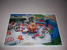 1970s DAS MONSTER RIDE at CIRCUS WORLD ORLANDO FLORIDA VTG POSTCARD