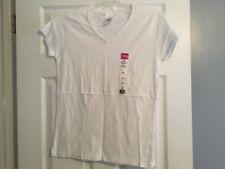 Gildan - Heavy Cotton Women's Vneck Short Sleeve T-Shirt - medium