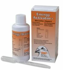 Dac Energy activator 100ml Carnitine Vitamin B C E Complex Pigeons Birds Poultry