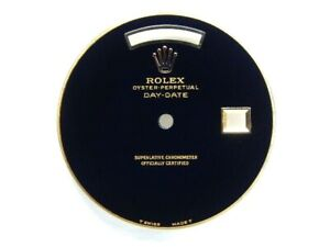 Custom Made Rolex Day-Date 36mm President Nature Black Onyx Stone Dial -Y/G
