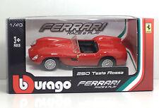 Bburago 36000 FERRARI 250 Testa Rossa - METAL 1:43 Race&Play
