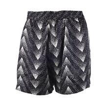Selected Femme Shorts Black Jet Stream Kamille Silk Size 34 / UK 6 BF 154
