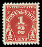 Scott J69 1930 ½c Postage Due Perforated 11 Issue Mint VF OG NH Cat $9.50