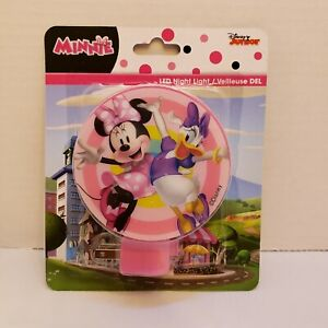 Disney Junior Minnie Mouse + Daisy Led Plug in Night Light