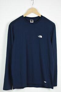 THE NORTH FACE VAPORWICK Men's MEDIUM Thin Long Sleeve Crew T-Shirt 35271-GS