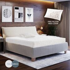 "10"" inch Memory Foam Bed Mattress Cool & Gel Medium Firm w/Free Pillow Full Size"