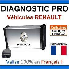 Valise de Diagnostic PRO pour RENAULT - MPM COM AUTOCOM DELPHI CAN CLIP