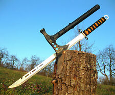 Gigantes tomahawk Hammer hacha + hermosa leves dos mano machete a016 + m001