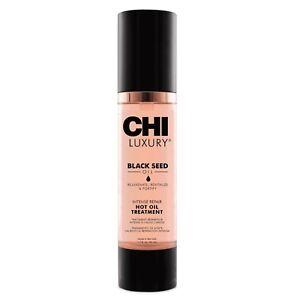 CHI Luxury Black Seed Intense Repair Hot Oil Treatment 1.7 oz / 50ml rejuvenates