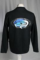 Ocean Pacific Vintage Snow Board Graphic Sweatshirt Jumper Black Size Large VGC!