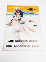 Rare 1948 Los Angeles Rams VS San Francisco 49ers Football Program Magazine