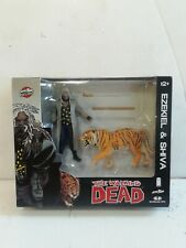 The Walking Dead: Ezekiel and Shiva 2-Pack Skybound McFarlane **BRAND NEW**