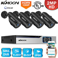 Lot Kkmoon 1080P 4/8Ch Dvr Outdoor Home Cctv Security Surveillance Camera System