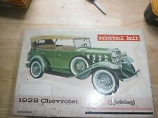 hubley metal kit unassembled  1932 chevy have a look ~~~~