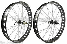 "Sun Ringle MULEFUT 80SL 26 x 4.0"" Fat Bike Wheelset 170mm 135mm Mule Foot NoTube"