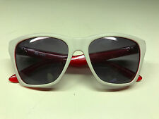 VONZIPPER B4BC Unisex Sunglasses White Red Frame With Protective Case