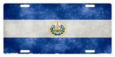 EL SALVADOR Flag Custom License Plate Salvadoran Emblem  Version # 7