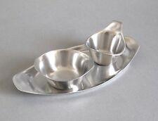 Wagenfeld Sahneservice WMF Milch + Zucker Set Cromargan Bauhaus Design