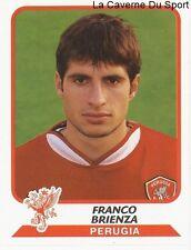 FRANCO BRIENZA ITALIA AC.PERUGIA STICKER CALCIATORI 2004 PANINI