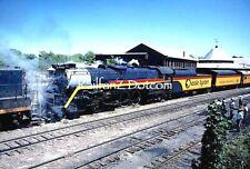 CHESSIE STEAM SPECIAL #2101 at Martinsburg 5/77 ORIG KODACHROME SLIDE SS0485