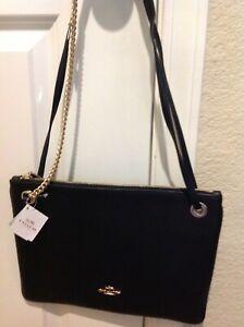 New Coach Ll/BLACK PBB Convertable Hippie Handbag
