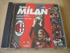 Tutto il Milan in CD-ROM 1899 1997 sport storia calcio rossoneri scudetto coppa