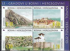 Bosnien und Herzegowina Nr. 124-127** Alte Städt