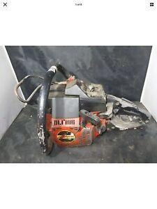 JONSERED 451 E CHAINSAW vintage chainsaw runs!