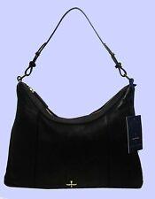 POUR LA VICTOIRE Ooh LA LA Black Leather Hobo Shoulder Bag Msrp $345.00
