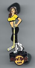 Hard Rock Cafe ONLINE / Hockey Hottie Series Gold / Pin / P3