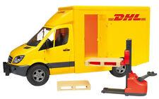 BRU2534 - Utilitaire MERCEDES Sprinter DHL avec accessoires jouet BRUDER - 1/16