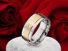 Echtschmuck-Ringe aus Gelbgold mit SI Reinheit