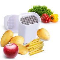 Stainless Steel French Fry Potato Chip Cutter Vegetable Fruit Knife Kitchen Tool