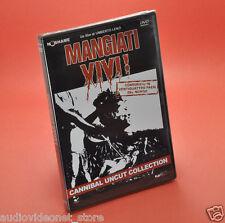 MANGIATI VIVI DVD UMBERTO LENZI cannibal uncut collection VERSIONE RESTAURATA