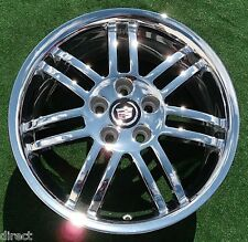 Brand NEW Genuine GM OEM Factory CHROME Cadillac STS DTS Accessory 18 inch WHEEL