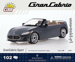 COBI  Maserati GranCabrio Sport / 24562 / 102 elem. blocks  auto toys car