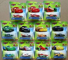Lot of 11 Disney Cars Carnival Cup Racers Rip Lewis Miguel Max Nigel Carla etc