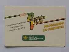 CALENDARIO BANCO DE CREDITO AGRICOLA. AÑO 1987.